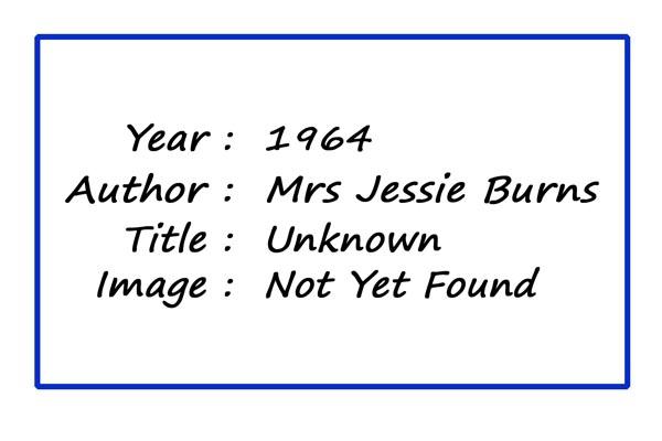 SoY 1964 (Mrs Jessie Burns)