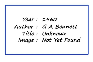 SoY 1960 (G A Bennett)