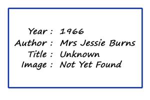 SoY 1966 (Mrs Jessie Burns)