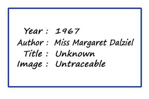 SoY 1967 (Miss Margaret Dalziel)