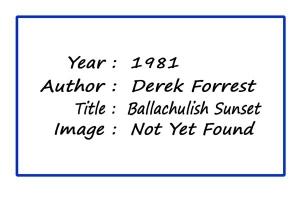 SoY 1981 Ballachulish Sunset (Derek Forrest)