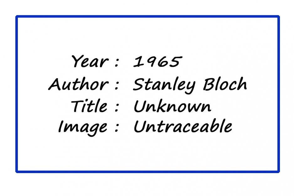 MPoY 1965 (Stanley Bloch)