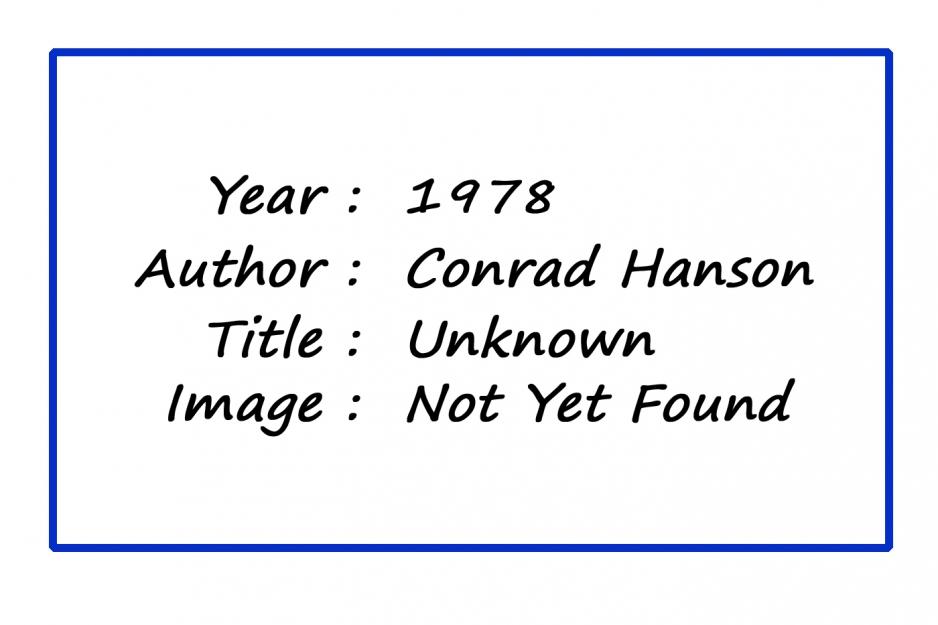 MPoY 1978 (Conrad Hanson)