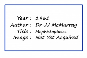 MPoY 1961 Mephistopheles (Dr JJ McMurray)