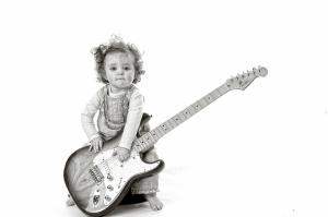 B Section Mono Print 1st Hendrix Who by Dave Ferguson