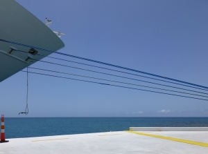 """B"" Projected Digital Image 3rd Ship Shape by Stuart Pearson"