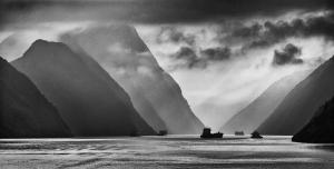 """""""A"""" Projected Digital Image 3rd Yangtze Light by Geof Longstaff"""
