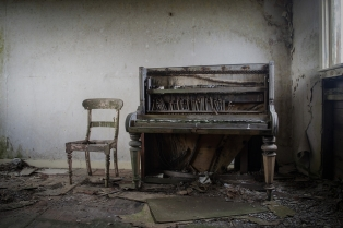 B Section Colour Print 1st The Piano by Davy Miller