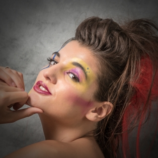 A Section PDI 2nd Glammed Up Girl by Joan Clarke