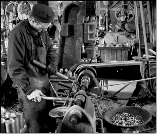 """""""A"""" PDI 2nd =Lathe Operator by Charles Woodford"""