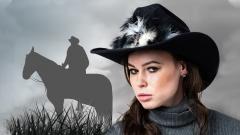 Wild west girl